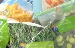 袋詰め冷凍野菜