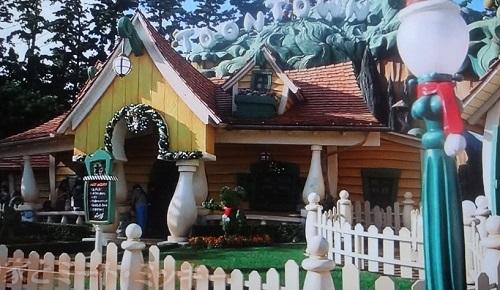 ミッキー&ミニーの家