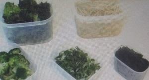 野菜はカットして保存