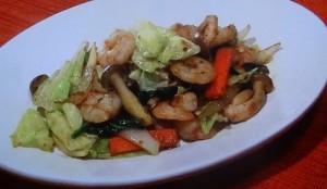 カレー風野菜炒めのレシピ