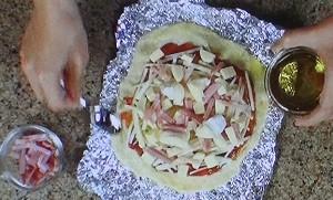 ピザの生地