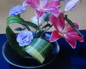 小島瑠璃子 生け花