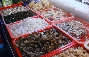 台湾 海鮮レストラン