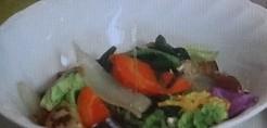木下特製美腸に効く野菜炒めの