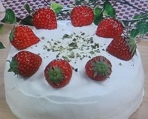 魔法のベリーケーキ