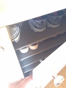 靴箱の収納