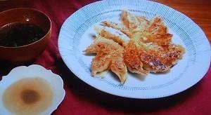 羽根つき鮭餃子