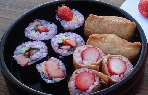イチゴ寿司