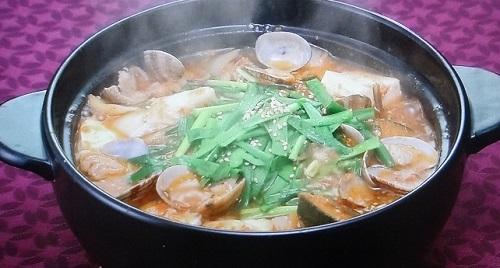 園流トマトキムチ鍋
