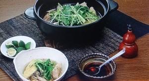 奥園流鶏とキノコのちゃんこ鍋