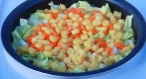 キャベツの炊き込みご飯