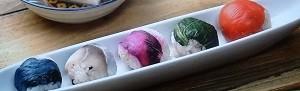 雑穀てまり寿司