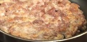 豚こま肉のトンテキ
