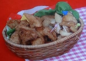 フライドチキン&ポテト
