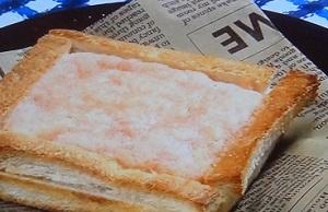 とろろ明太子土手パン