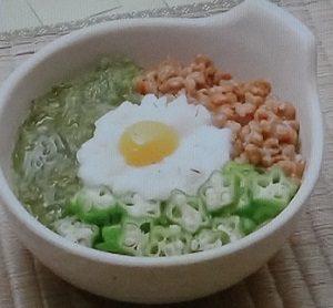 大麦入りネバネバ小鉢