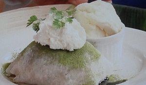 静岡抹茶とあずきの大福フレンチトースト