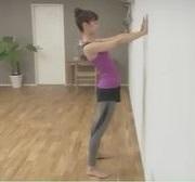 壁反らし体操