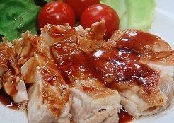 鶏の照り焼きチキン