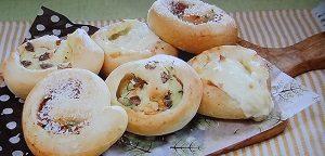 篠田麻里子の3種のお惣菜ロールパン