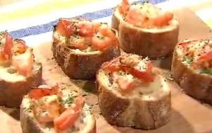刻み酢トマトのブルスケッタのレシピ