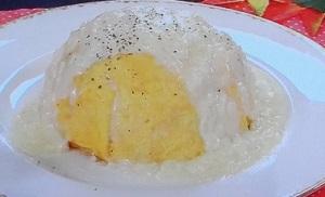 枡谷シェフのチーズオムライス
