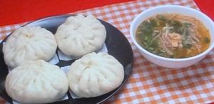 みきママのヤンニョムチキンまん&台湾風スープ
