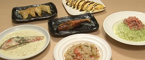 ウル得マンの鮭のレシピ