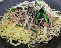 成澤文子の焼きそばレシピ