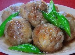 柳澤流肉団子のレシピ