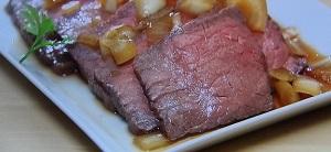 柳澤英子のローストビーフのレシピ