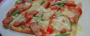 油揚げのピザのレシピ