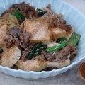 重信初江先生の肉豆腐のレシピ