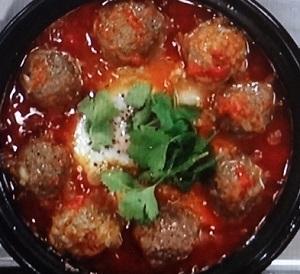 ローラのモロッコ風ミートボールのレシピ