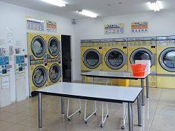 コインランドリー、洗濯機