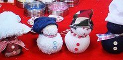 雪だるま人形