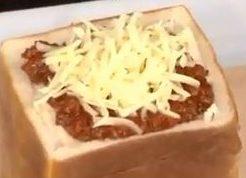 ギャル曽根の食パンで簡単ラザニア