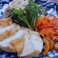 チキンと根菜のカポナータ