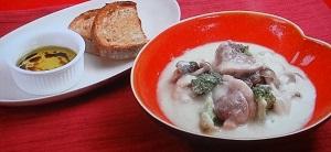 ミーの鴨のクリームシチューのレシピ