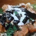 ユーリンチ風香味から揚げ丼のレシピ