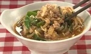 北斗晶のレシピ!ニラともやしたっぷりウマ辛鍋