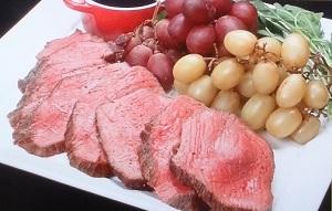 水島弘史シェフのローストビーフのレシピ