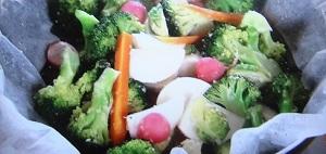 秋冬野菜の蒸し温野菜のレシピ