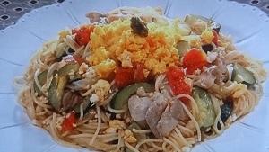 平野レミのすい鶏パスタのレシピ