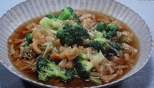 ブロッコリーの干し貝柱煮込みのレシピ