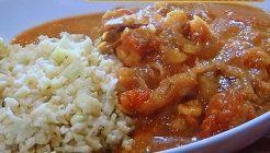 カリフラワーライスのカレーのレシピ