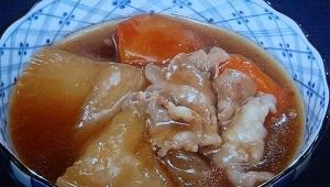 豚大根のレシピ