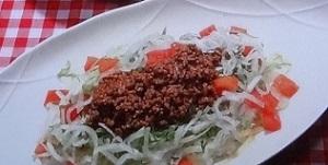 大根のタコライスのレシピ