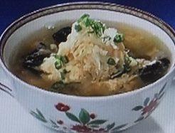 キクラゲとネギの卵スープのレシピ