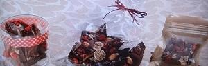 ローチョコレートのレシピ
